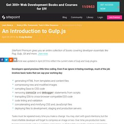 An Introduction to Gulp.js