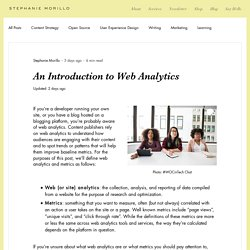 An Introduction to Web Analytics - DEV