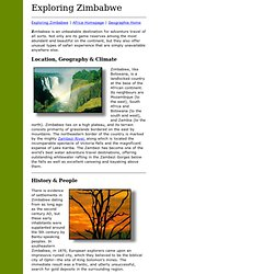 an introduction to the history of zimbabwe How to write an essay a-level history is all about writing essays the final type of introduction is far more individual you might use an interesting.