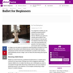 An Overview of Ballet for Beginners