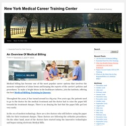 An Overview Of Medical Billing Training in New York
