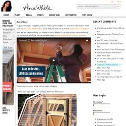 Barn Door - DIY Projects