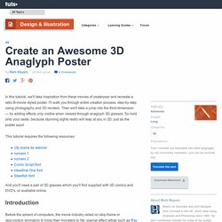 Create an Awesome 3D Anaglyph Poster