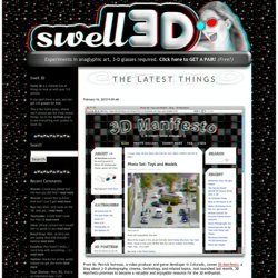 Swell 3D -- the anaglyphic 3-D glasses website