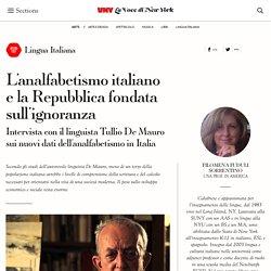 L'analfabetismo italiano e la Repubblica fondata sull'ignoranza – La Voce di New York