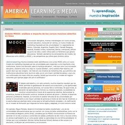 Debate MOOC: análisis e impacto de los cursos masivos abiertos en línea