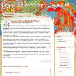 Proyecto Literatura y Dictadura. ENRO