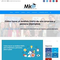 Cómo hacer un Análisis DAFO de una empresa y personal [Ejemplos]