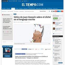Análisis de Juan Gossaín - Política en Colombia y el Mundo: Noticias de Política