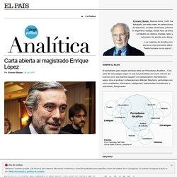 Analítica por Ernesto Ekaizer