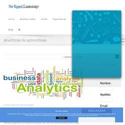 Analíticas de aprendizaje - Learning Analytics