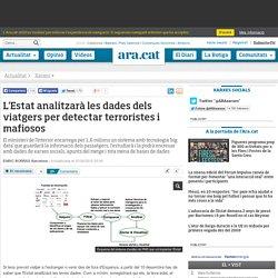 L'Estat analitzarà les dades dels viatgers per detectar terroristes i mafiosos