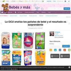 La OCU analiza los pañales de bebé y el resultado es sorprendente