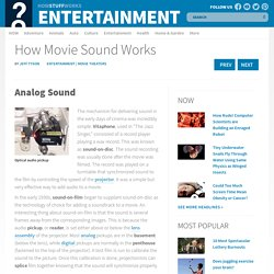 Analog Sound - How Movie Sound Works