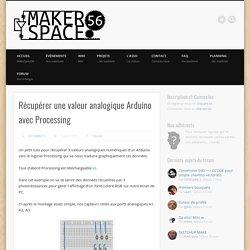 Récupérer une valeur analogique Arduino avec Processing – MakerSpace56 : anime le Fab Lab de Vannes !