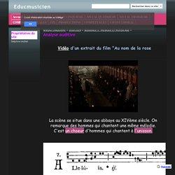 Analyse auditive - Educmusicien