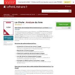 La Chute (Albert Camus) : Analyse complète et détaillée du livre