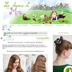 Les cheveux de Mini: analyse de composition