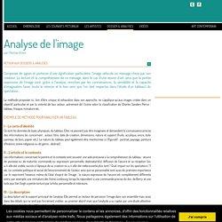 Analyse de l'image