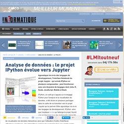Analyse de données : le projet IPython évolue vers Jupyter