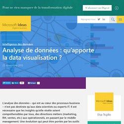 Analyse de données : qu'apporte la data visualisation