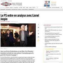 Le PS entre en analyse avec Lionel Jospin