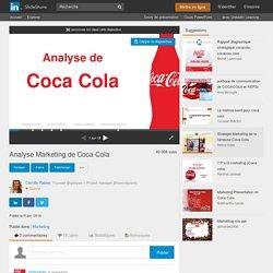 Analyse Marketing de Coca-Cola