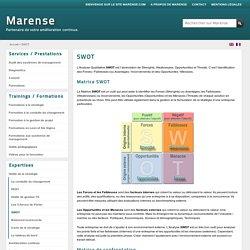 SWOT, analyse SWOT, matrice de confrontation - Lyon - Marense