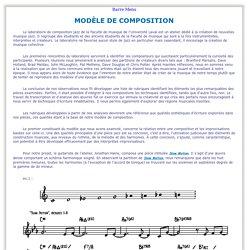 Analyse - Musique contemporaine - JAZZ