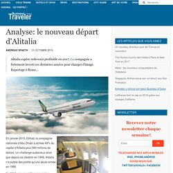 Analyse: le nouveau départ d'Alitalia