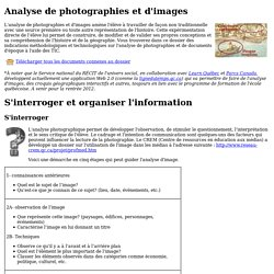 Analyse de photographies et d'images