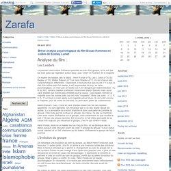 Brève analyse psychologique du film Douze Hommes en colère de Sydney Lumet - Zarafa