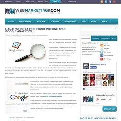 L'analyse de la recherche interne avec Google Analytics - Arnaud BRIAND