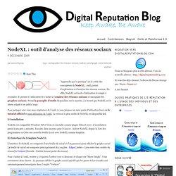 NodeXL : outil d'analyse des réseaux sociaux