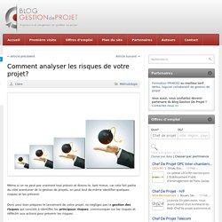 Analyse des risques du projet