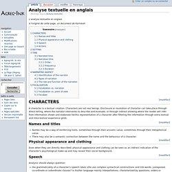 Analyse textuelle