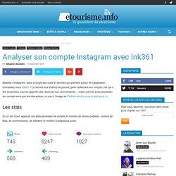 Analyser son compte Instagram avec Ink361