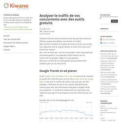 Analyser le traffic de vos concurrents avec des outils gratuits