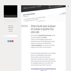 Grille d'audit pour analyser et évaluer la qualité d'un site web