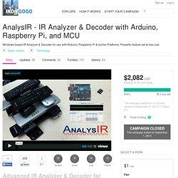 AnalysIR - IR Analyzer & Decoder with Arduino, Raspberry Pi, and MCU