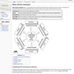 Next Action Analysis - ActivityOwnerWiki
