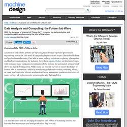 Data Analysis and Computing: the Future Job Wave