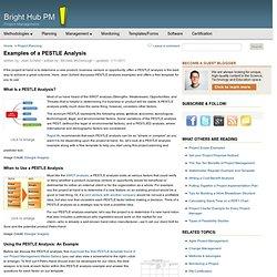 pestle analysis template .
