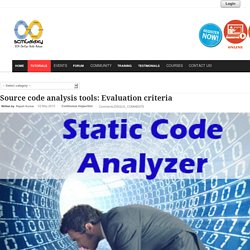 Source code analysis tools: Evaluation criteria