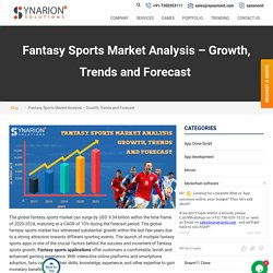 Build World-Class Fantasy Sports Software By The Industries Experts