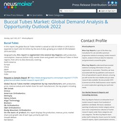 Buccal Tubes Market: Global Demand Analysis & Opportunity Outlook 2022