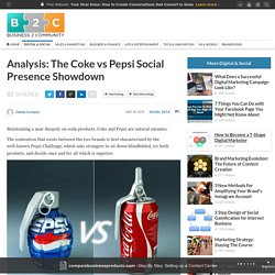 Analysis: The Coke vs Pepsi Social Presence Showdown