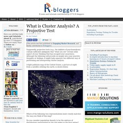 What is Cluster Analysis? A Projective Test