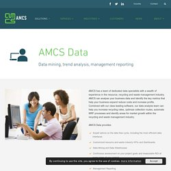 Data Analysis Software for Recycling & Waste Management - AMCS Group
