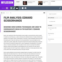 Film Analysis: Edward Scissorhands